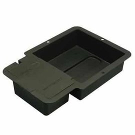 Autopot 1 Pot Tray and Lid Black (square)