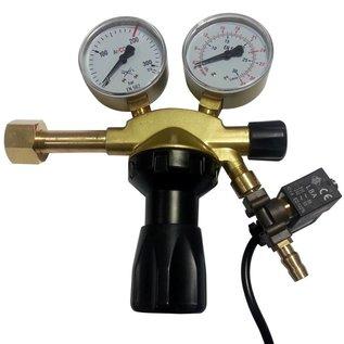 DimLux CO2 Pressure reducing valve with magnetic valve pro