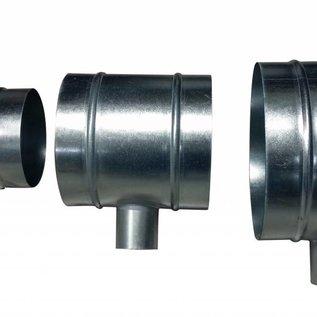 DimLux T-piece 200mm-50mm-200mm