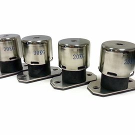 OptiClimate 10000 PRO3 and PRO4 vibration isolation springs