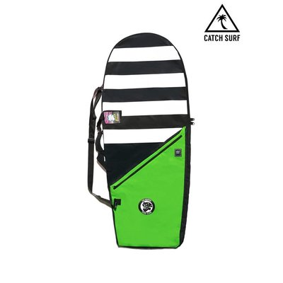 Catch Surf - Surfboard bag - Black / Lime