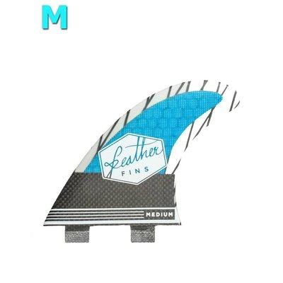 Feather fins - Superlight Dual Tab Carbon blue medium