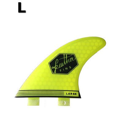 Featherfins - Ultralight Large Dual Tab Yellow