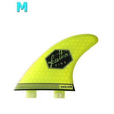 Feather fins - Ultralight Medium Dual Tab lime