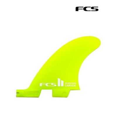 FCS II  - Carver Neo Glass Quad Rear Set M