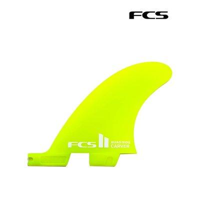 FCS II  - Carver Neo Glass Quad Rear Set