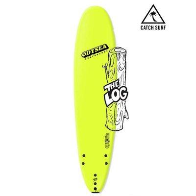 Catch Surf - Odysea Log 9'0 - ELECTRIC LEMON/80'S STEEZE