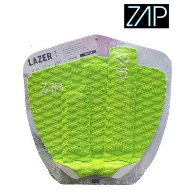 ZAP - LAZER  Tailpad / Archbar set  Lime