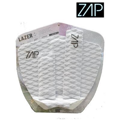 ZAP - LAZER  Tailpad / Archbar set  White