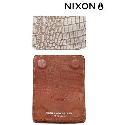 NIXON  Card Wallet white