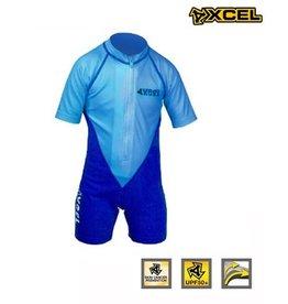 Xcel Xcel -Toddler ss lycra UV springsuit blue
