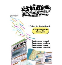 Books Estim Surf Travel Guide South West France