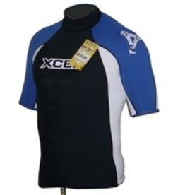 Xcel Xcel - Tri colour Rash guard blue