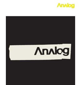 Analog Analog - Creaser Black T- shirt