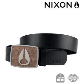 Nixon NIXON Enamal Icon Belt Cork / black