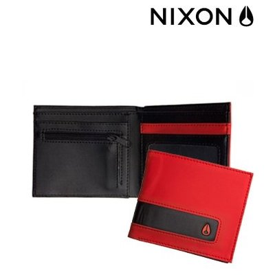 NIXON Rubber Showdown red