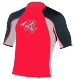 Xcel Xcel - Tri Colour Rash guard red