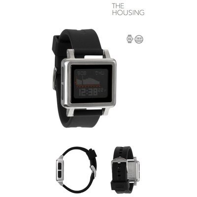 NIXON  The Housing  silver / black