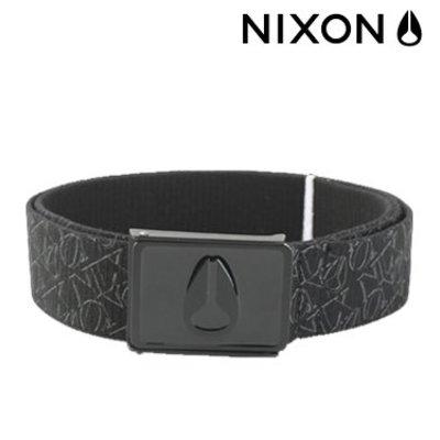 NIXON Enamel Wings Belt Philly Black