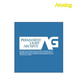 Analog Analog - Permanent Dodger Blue  T- shirt