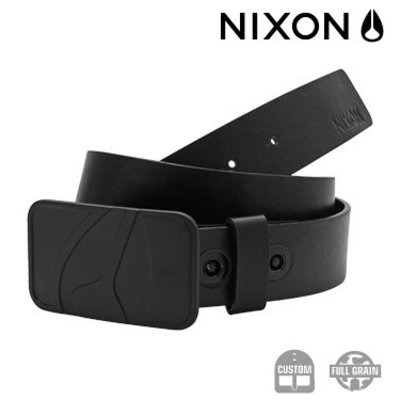 NIXON Badge Belt ALL BLACK