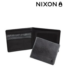 Nixon * NIXON Monza Big Bill Bi - Fold pebble