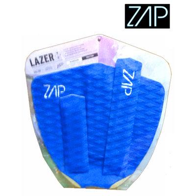 ZAP - LAZER  Tailpad / Archbar set  Blue