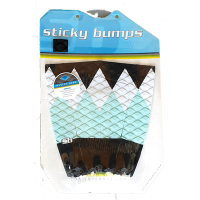 Sticky Bumps - 5pc  Weston-Webb tailpad- blue