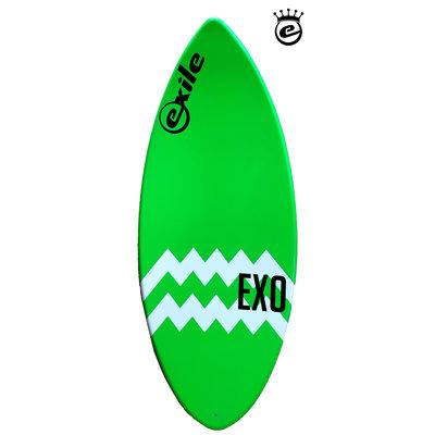Exile - EX0   52 Green & zigzag