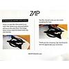 Zap Zap - Wedge Med. 45  - Orange Zig Zag
