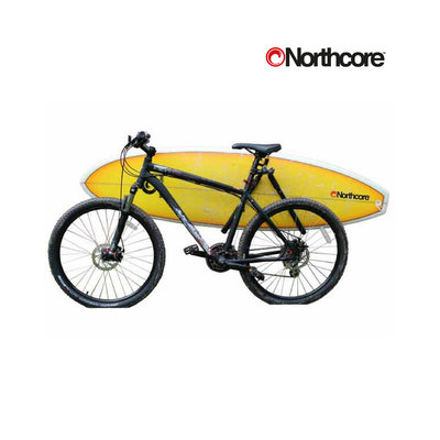 Northcore - lowrider bicycle surfboard carry rack