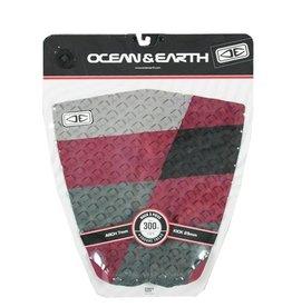 Ocean & Earth O&E - Hack 3 pcs. Red