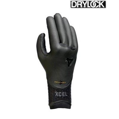 Xcel - 5-Finger Drylock Celliant Glove 5mm