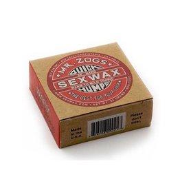 Sex Wax Sexwax - Quick Humps Red label 5x warm tot mid tropic- 4pcs