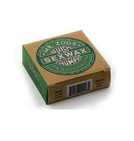 Sex Wax Sexwax - 4 pcs- Humps Green label 3x cool to mid warm
