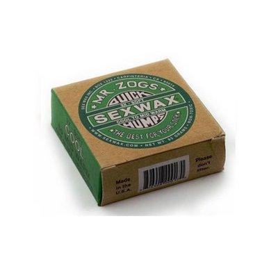 Sexwax - 4 pcs- Humps Green label 3x cool to mid warm