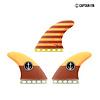 Captain Fin Co. Captain Fin -CF  large ST orange