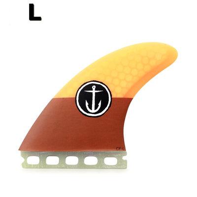 Captain Fin -CF  large ST orange