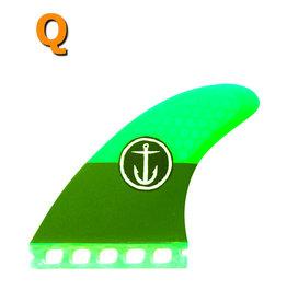 Captain Fin Co. Captain Fin - CF QUAD MEDIUM ST  green