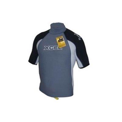 Xcel -  Tri colour Rash guard grey