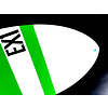 Exile Exile - EX1      Green & White  - Large