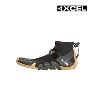 Xcel - 1mm Split Toe Infiniti Reef Boot Black Gum