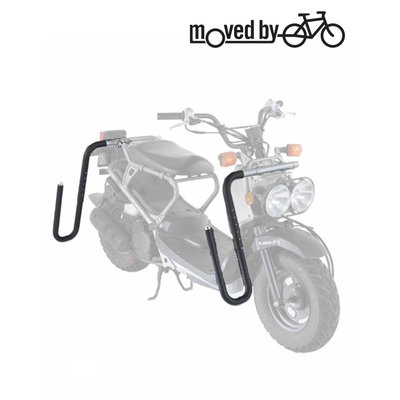 Moved By Bikes – Moped – Surfboard Rack