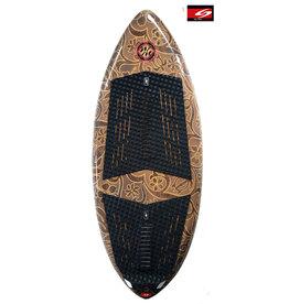 "Surftech Surftech - 52"" Mega Loaf - Floral Inlay - Expoxy  +Vader pads"