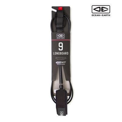 O&E -  9'0 Premium One-Xt Leash Black