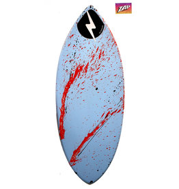 Zap ZAP- Wedge L  49  -  Blue & Red Splash