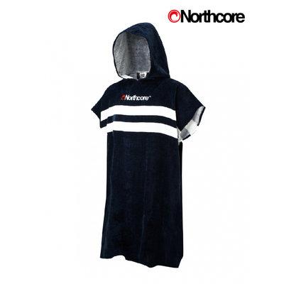 Northcore - Beach Basha Changing Robe - Blue Stripey
