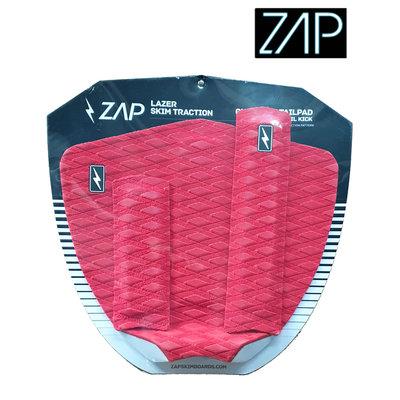 ZAP - LAZER  Tailpad / Archbar set Red