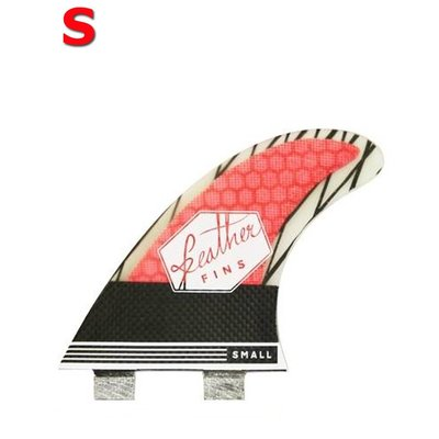 Feather fins - Superlight Carbon Roja Dual Tab small