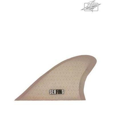 True Ames - Honeycomb Glass-on Keel Twin Fins